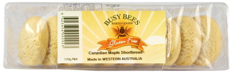 Busy Bees Canadian Maple Shortbread - 170g