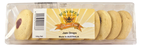 Busy Bees Jam Drop Biscuits - 180g