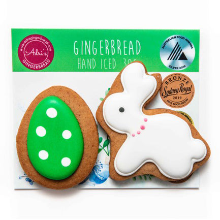 Adri's Gingerbread Bunny and Green Egg - 25g