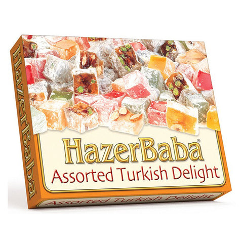 Hazerbaba Mixed Turkish Delight Assortment - 125g