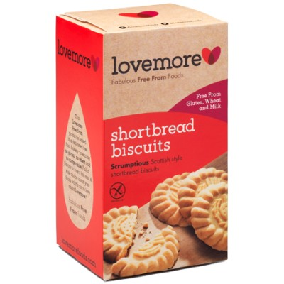 Lovemore Shortbread Biscuits - 200g
