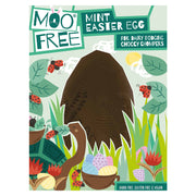 "Moo Free Organic Mint Flavoured ""Milk"" Chocolate Easter Egg - 140g"
