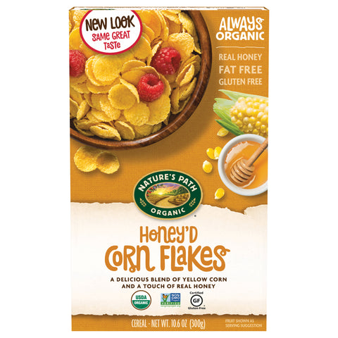 Nature's Path Honey'd Corn Flakes - 300g