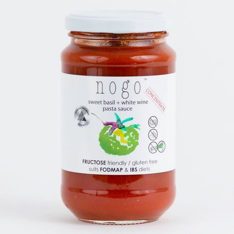 Nogo Basil & White Wine Pasta Sauce - 375ml