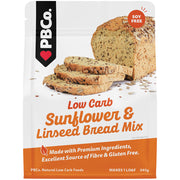 PBCo. Low Carb Sunflower and Linseed Bread Mix - 340g