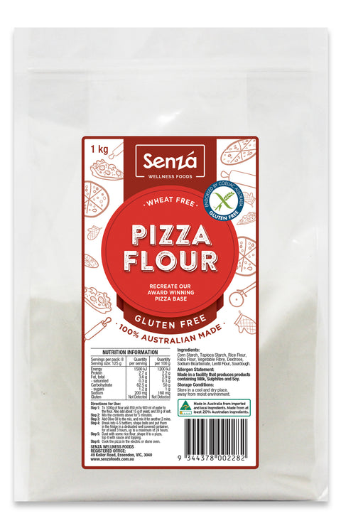 Senza Wellness Foods Pizza Flour - 1kg