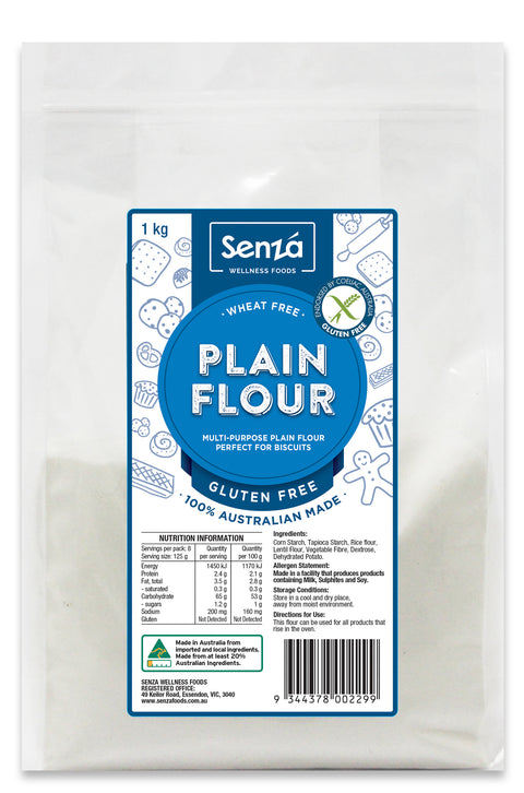 Senza Wellness Foods Plain Flour - 1kg