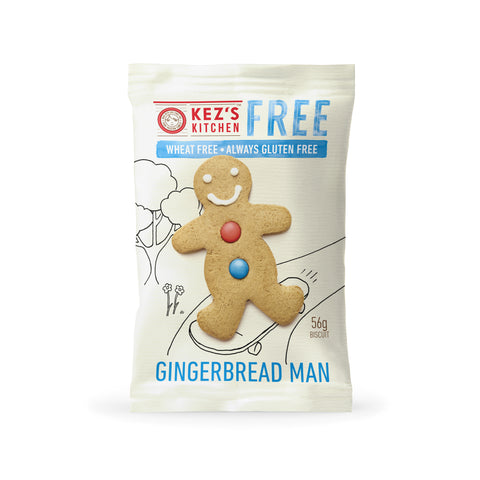 Kez's Kitchen Free Gingerbread Man - 56g