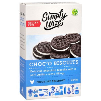 Simply Wize Choc'O Biscuits - 250g