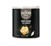 The Good Crisp Co. Stacked Chips Sour Cream & Chives - Carton 12x 45g