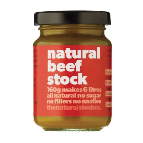 The Natural Stock Co Natural Beef Stock 160g
