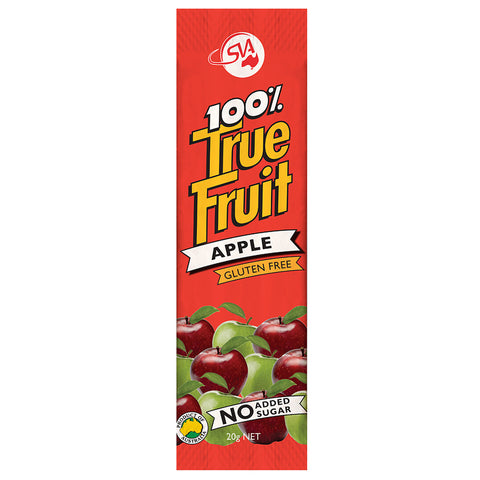 100% True Fruit Strips Apple - 120g (6 x 20g Strips)