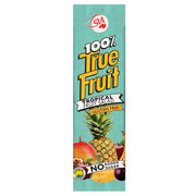 100% True Fruit Strips Tropical Fruit Salad - 120g (6 x 20g strips)
