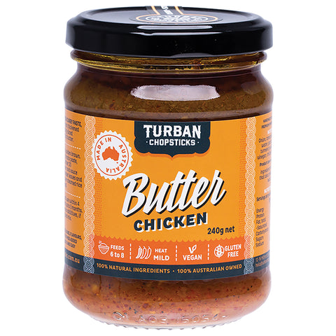 Butter Chicken - Curry Paste - 240g net