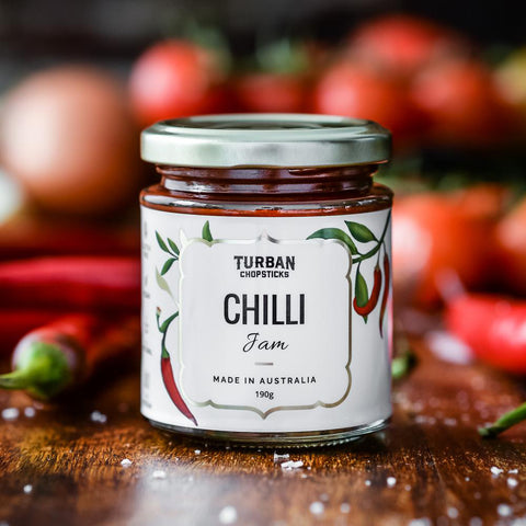 Turban Chopsticks Chilli Jam 190g