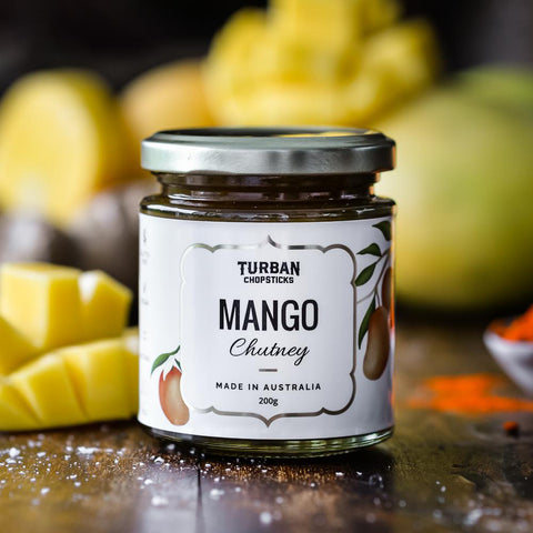 Turban Chopsticks Mango Chutney 200g