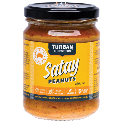 Satay Peanuts - Curry Paste - 240g net