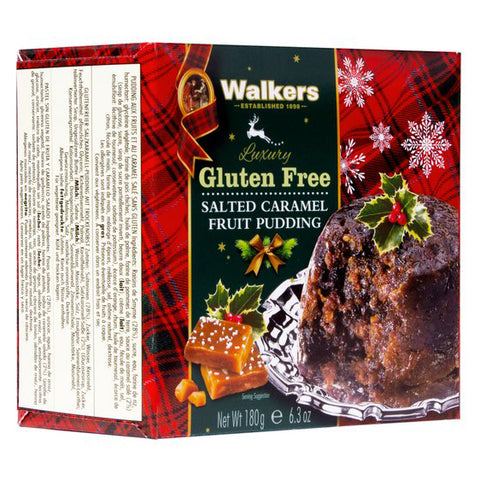 Walkers Gluten Free Salted Caramel Fruit Pudding - 180g