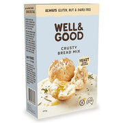 Well & Good Crusty Bread Mix - Carton 5x 410g