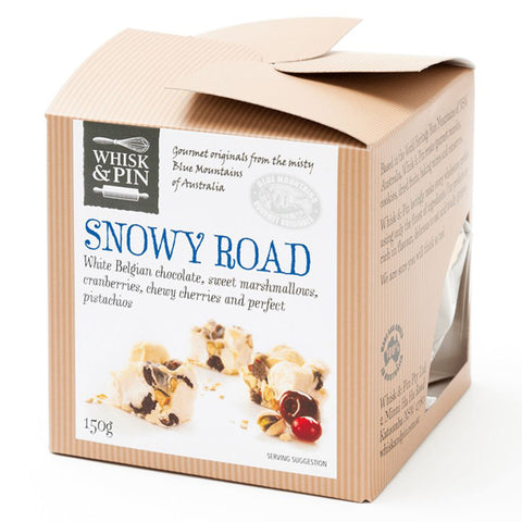 Whisk & Pin Snowy Road Bites 150g