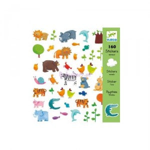 Djeco - Animals Stickers