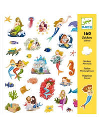 Djeco - Mermaids Stickers