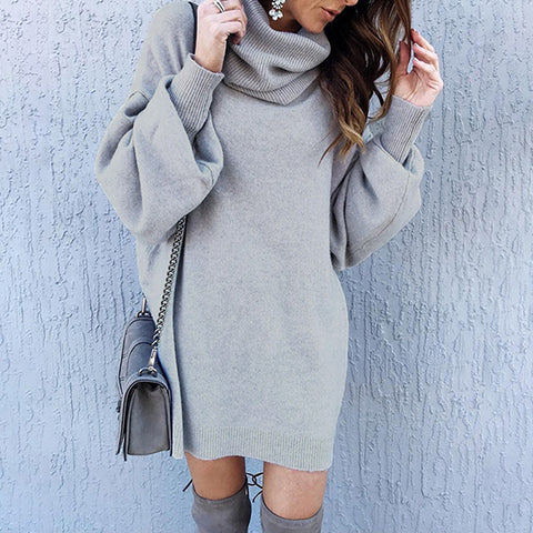 New Solid Color Loose Knit Sweater
