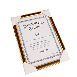 A4 document frame 21x29.7cm