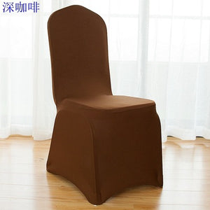 Wedding and hotel chair seat covers