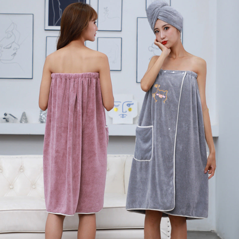 THREE PCS BATHROOM TOWEL SET