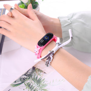 Ladies funny watches shinning colorz