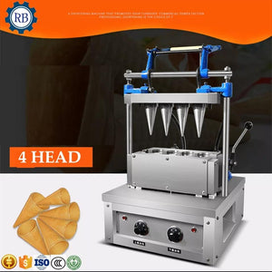Mashine za kutengeneza biscuit za koni corn ice cream wafer biscuit forming machine