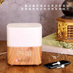 for 1pc / Humidifier Aroma with bluetooth music, clock, alarm and night lamp / Ukubwa 350ml