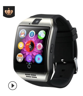 smart watch mobile phone Bluetooth card, facebook, music, smart wear beautiful arc fashion watch gift with