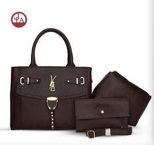 New hot Brand leather and quality female handbag