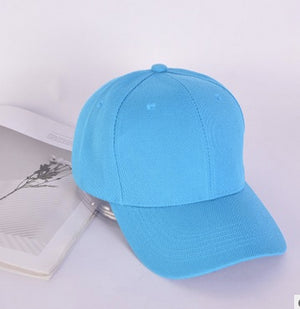New all-match spring and summer bare-body couple baseball caps, the same style can be customized logo caps