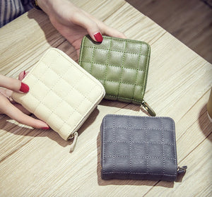 Cross-border source Korean version of mini wallet zipper short student wallet female cute coin purse