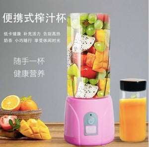 Portable Juice Blender Mini Juice Cup Fruit Mixer Bottle