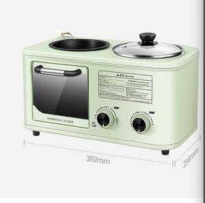 Breakfast machine, toaster, household toaster, sandwich maker, toaster, electric oven, multi-purpose pot