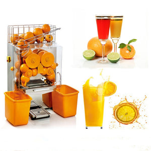Mashine ya kibiashara ya kukamua juisi ya machungwa Automatic orange juicer fresh orange juice (kiwanda kidogo)