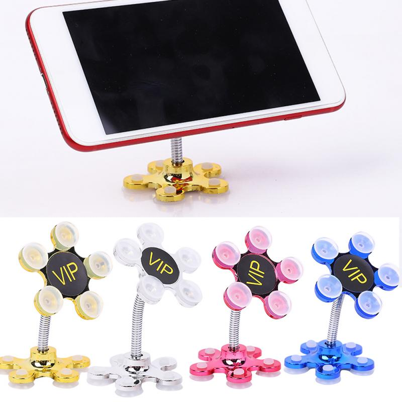 Phone Holder Rotatable Stand Rotatable Multi-Angle Double-Sided Magic Suction Cup Home Car Mounts Universal