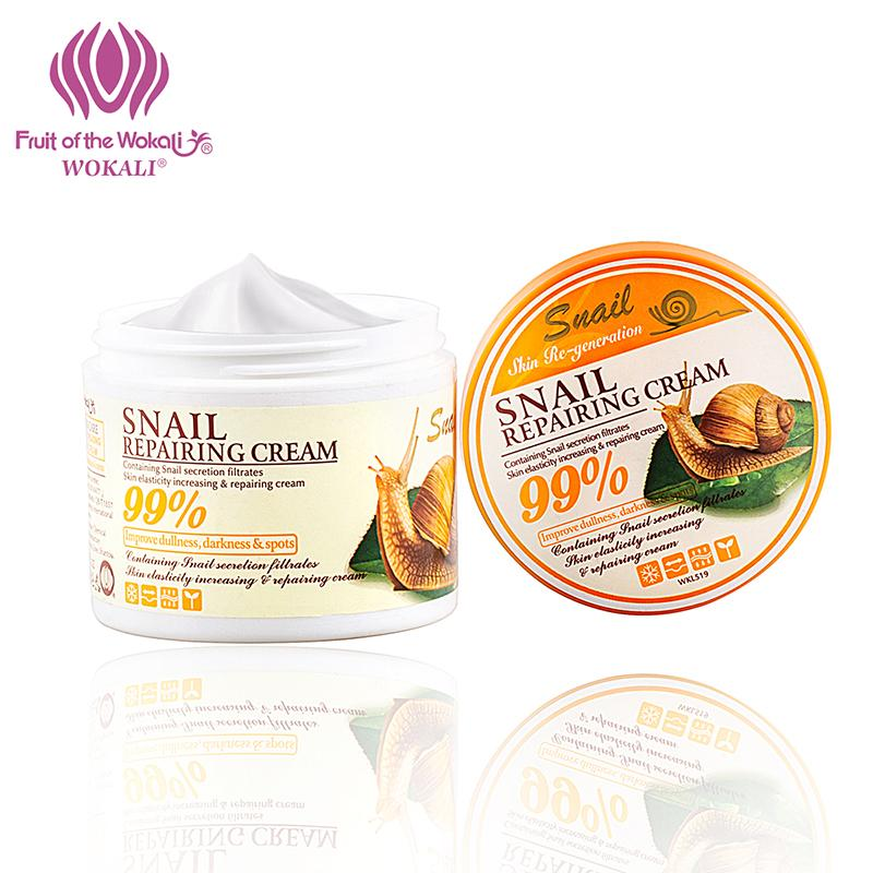 Snail Moisturizing Face Cream Nourishing skin care Anti-Aging Wrinkle beauty Repair the skin Remove scar