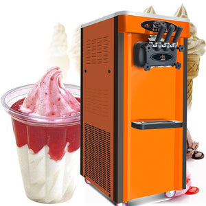 Soft ice cream machine large capacity Mashine ya kutengeneza ice cream laini