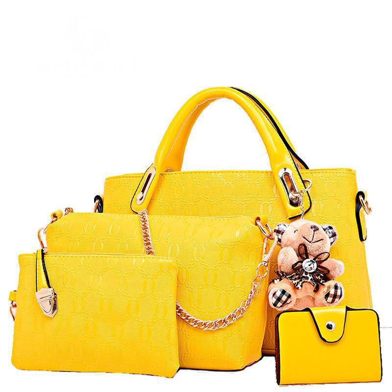 Cheap multiple pieces women children handbag