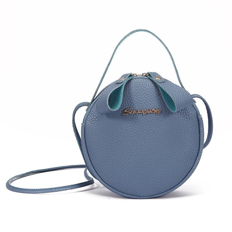 stylish Korean style shoulder & diagonal Small Round Bag