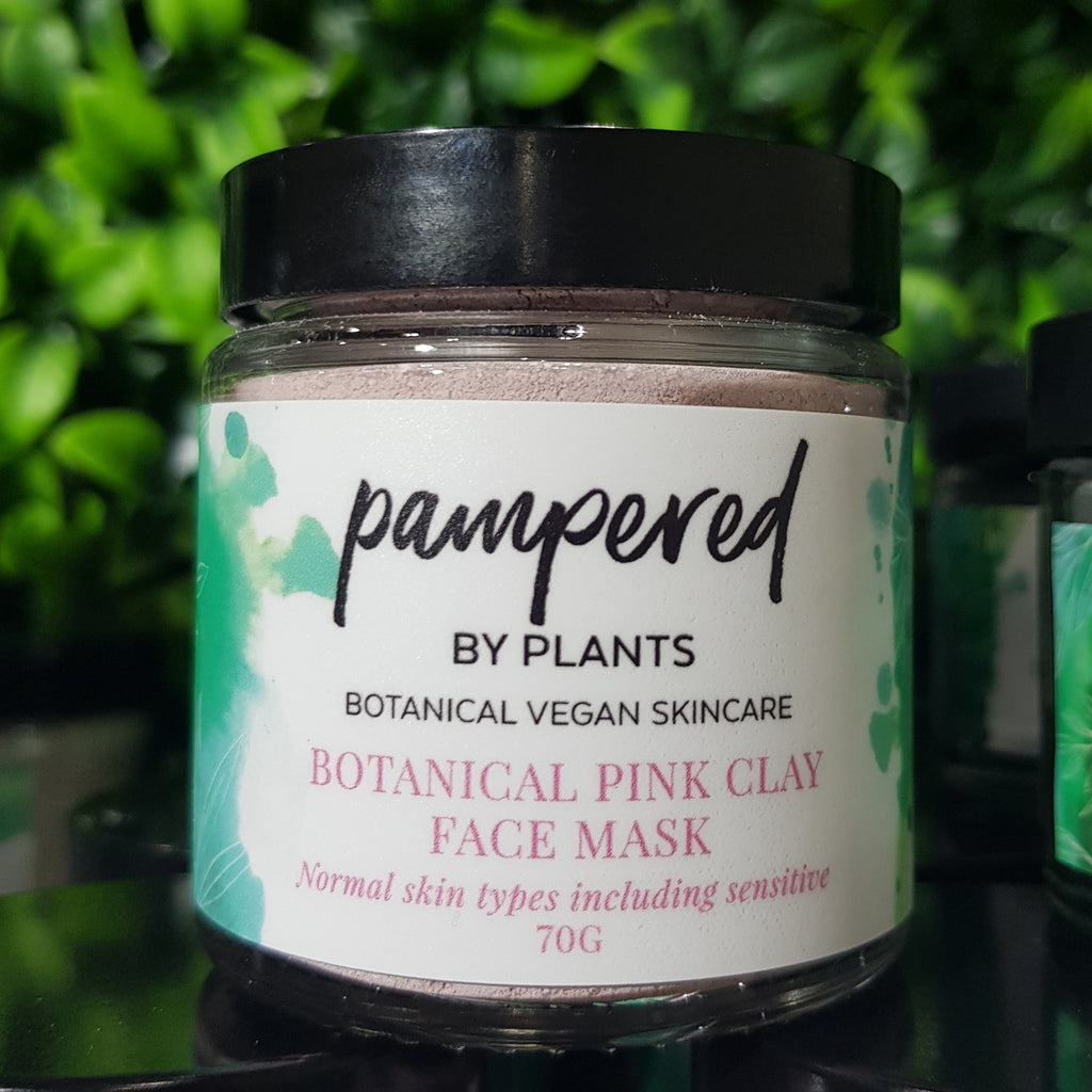 Botanical Pink Clay Face Mask