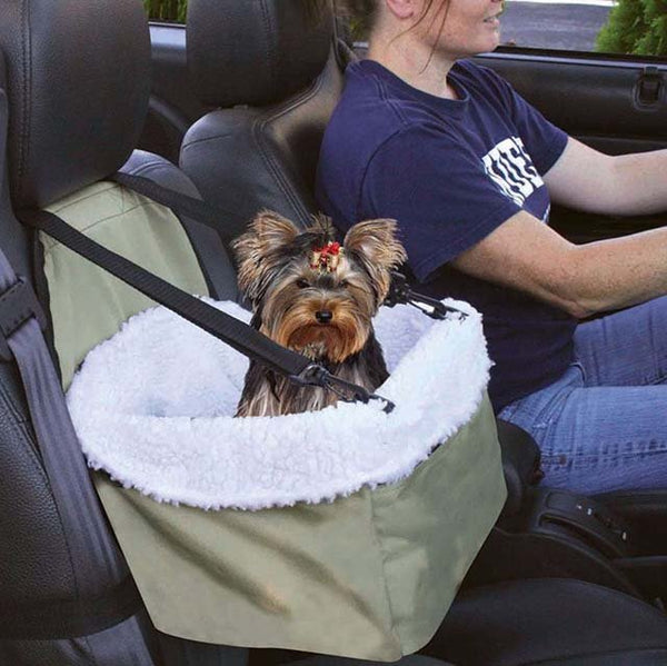 Car Seat For Dog Pet - pawslove1