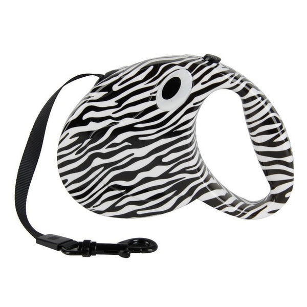 Zebra Stripe Pet Leash.