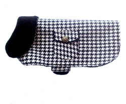PA Houndstooth Dog Coat Jacket - pawslove1