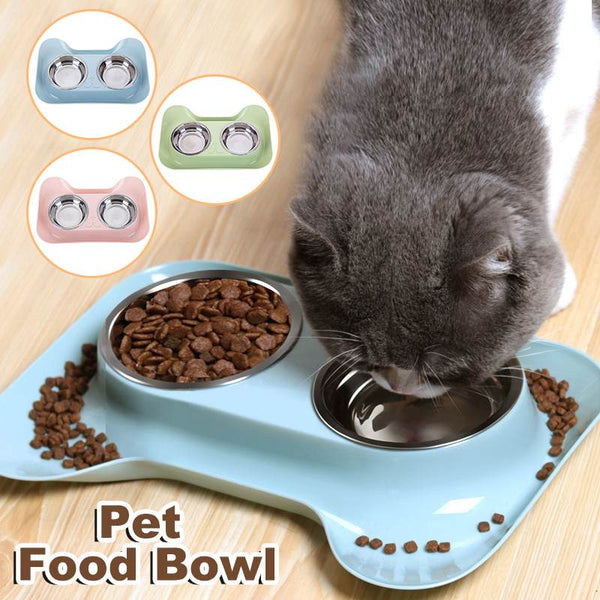 Stainless Steel Dog Cat bowl. - pawslove1
